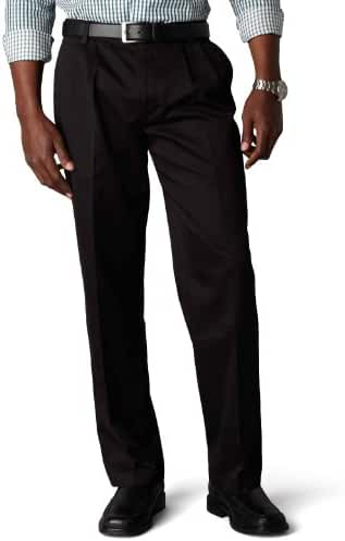 Dockers Men's Classic Fit Signature Khaki Pant-Pleated D3