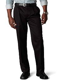 Men's Classic Fit Signature Khaki Pant-Pleated D3