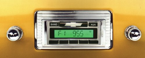 1947-1953 Chevrolet Pickup Truck Custom Autosound USA-230 AM/FM Stereo Radio 200 watts