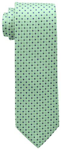 Tommy Hilfiger Mens Core - Tommy Hilfiger Men's Core Neat I Tie, Green, One Size