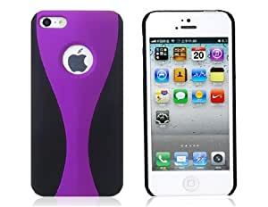PC Protective Case for iPhone 5 (Purple)