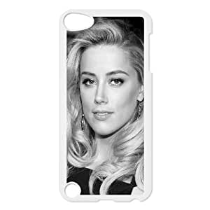 iPod Touch 5 Case White Amber Heard Black Dress Hollywood Star Fbvsq