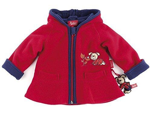 sigikid 145902 Fleecejacke Baby rot Hase ski patrol (086)