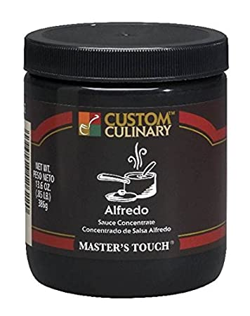 Custom Culinary Masters Touh Concentrate, Sauce, Alfredo, 13.6 Ounce