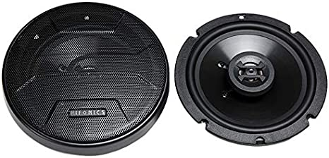 Grills Not Included Passive Crossover 175 Watt Black, Pair Hifonics ZS4CX Zeus Coaxial Car Speakers 4 Inch Coaxial Speakers 2-Way Car Audio Sound System