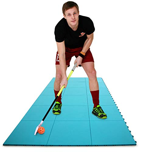 Hockey Revolution Dryland Flooring Tiles for Field Hockey and Floorball Training (15 Tiles)
