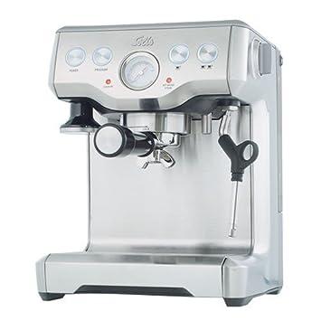 Solis Caffespresso Pro Independiente Semi-automática Máquina espresso 2tazas Acero inoxidable - Cafetera (Independiente, Máquina espresso, De café molido, ...