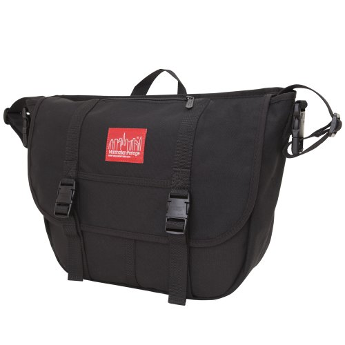 Manhattan Portage Windel Messenger Bag schwarz
