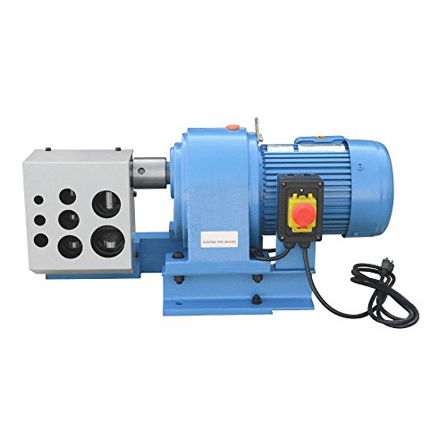 2 HP Electric Tubing Angled Pipe Notcher Tube Punch Press Metal Cut 1/4 3/8 1/2 3/4 1 1-1/4 1-1/2 2'' 1740 RPM 1500W by DBM IMPORTS