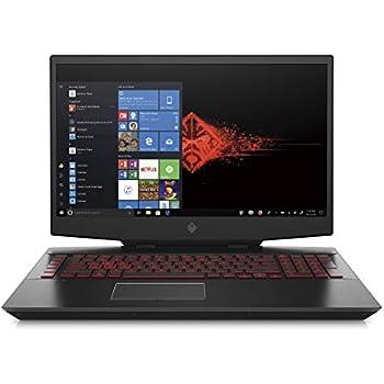 Omen by HP 2019 17-Inch Gaming Laptop, Intel i7-9750H Processor, NVIDIA RTX 2080 8 GB, 16 GB RAM, 256 GB SSD & 1 TB HDD, VR Ready, Windows 10 Home (17-cb0050nr, Black)