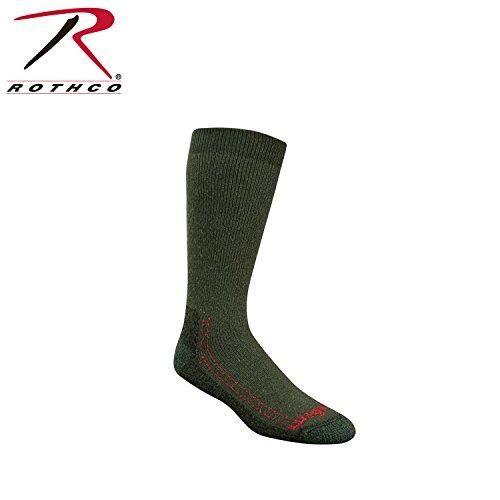 Rothco Wigwam Minus 40 C Silver Socks, Olive, Large