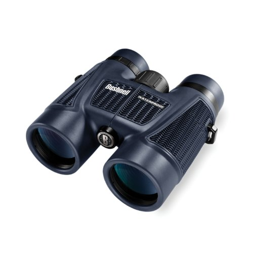 Bushnell H2O Series Roof Prism Binoculars 10×42 with Twist Up Eye Cups