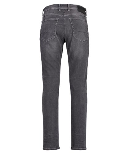 Grey Used authentic Jeans Grau Uomo Macflexx Gamba Dritta A H825 Light Mac wxvROqzUx