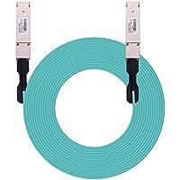 10Gtek 100Gb/s for Arista AOC-Q-Q-100G-20M, QSFP28 Parallel AOC, Active Optical Cable, OM3, 20-Meter