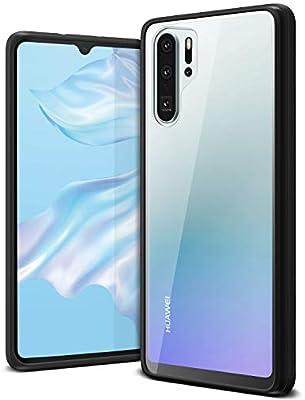VRS Huawei P30 PRO Crystal Chrome cover/case - Black: Amazon