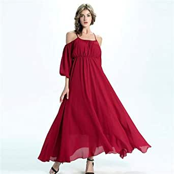 Red Casual Dress For Girls
