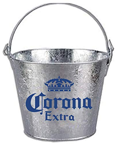 - Corona Beer Brand Themed Galvanized Steel Bucket
