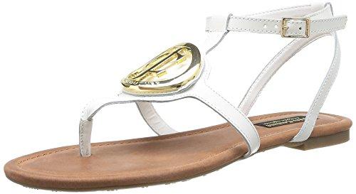 Juicy Couture ATHENA - Sandalias para mujer White Vachetta