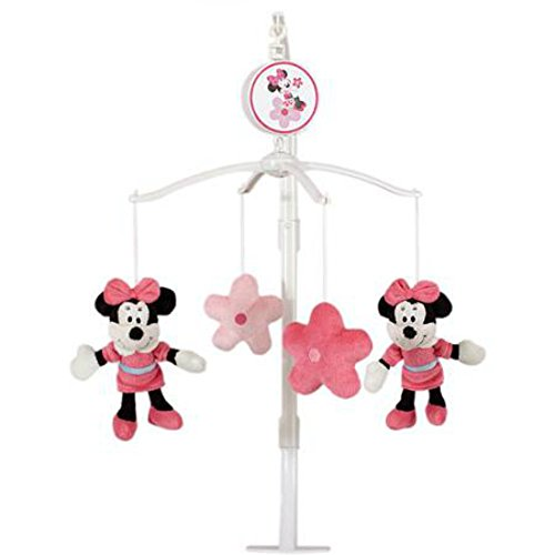 Musical Mobile Disney (Musical Mobile Crib Baby Minnie Mouse crib mobile by Sitting Pretty by Sitting Pretty Disney Minnie Mouse)