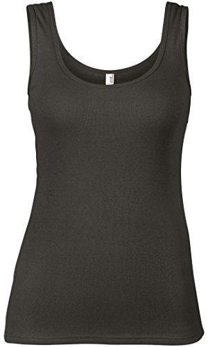 Anvil - Camiseta sin mangas - para mujer gris