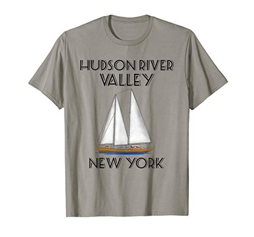 Sailing Hudson River Valley New York T-Shirt