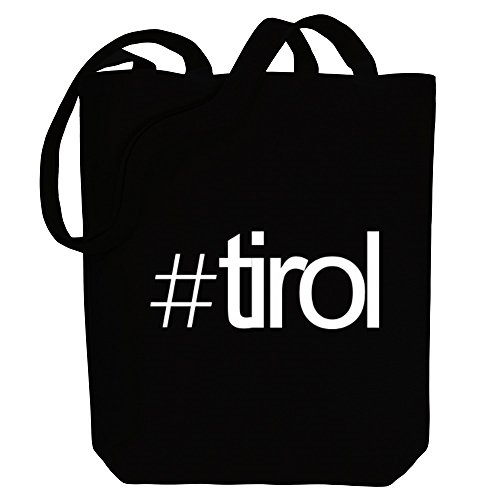 Idakoos Bag Idakoos Tote Tirol Hashtag Cities Hashtag Canvas 8dwRqdF