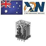 PANASONIC EW HC4-H-AC24V POWER RELAY, 4PDT, 24VAC, 5A, PLUG IN