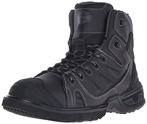 Polyurethane Mens Boots (Harley-Davidson Men's Foxfield Motorcycle Boot, Black, 9.5 M US)