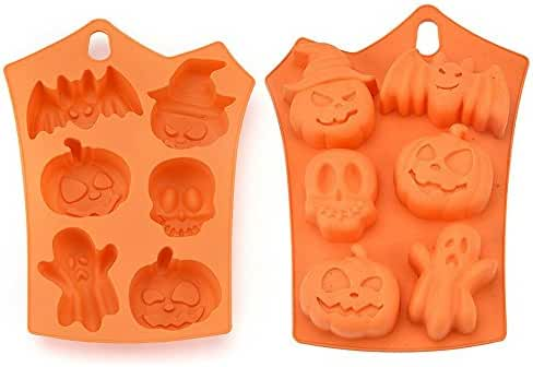 Cake Silicone Mold , OUBAO Creative Happy Halloween Silicone Pumpkin Cake Silicone Mold Kitchen Bake Tools