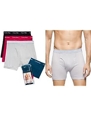 Calvin Klein 3-pack Classic Boxer Briefs 1 bonus pair