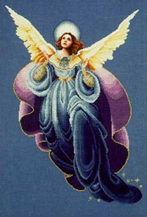 ANGEL OF THE MORNING COUNTED CROSS STITCH PATTERN ()