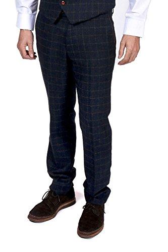 Marc Darcy - Pantalon - Pantalon - Homme bleu bleu marine Auditor's Target Value