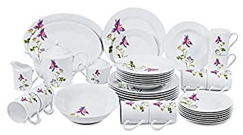 Success Imports Lilac 40 Piece Dinnerware Set  sc 1 st  Amazon.com & Amazon.com | Success Imports Lilac 40 Piece Dinnerware Set ...