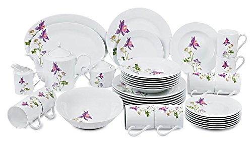 Success Imports Lilac 40 Piece Dinnerware Set by Success Imports  sc 1 st  Immigration Certification Translation & Success Imports Lilac 40 Piece Dinnerware Set | Immigration ...
