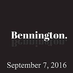 Bennington, September 7, 2016