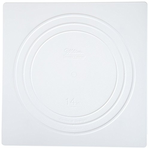 Wilton 302-1805 Decorator Preferred Square Separator Plate for Cakes, (Accessories Cake Plate)