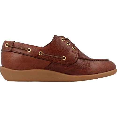 Leather Gary Jobson Sebago Mocassini Marrone Tumbled Uomo qOTxARCn