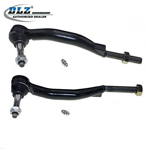 DLZ 2 Pcs Outer Tie Rod End Compatible with 2004-2007 Buick Rainier 2003-2006 Chevrolet SSR 2003-2009 Chevrolet Trailblazer 2003-2009 GMC Envoy 2003-2008 Isuzu Ascender 2005-2009 Saab 9-7X ES3675 Partsgoing