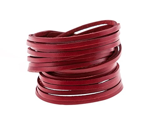 10 Leather Bangles - 5