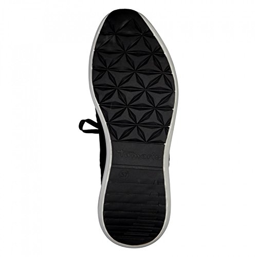 25428 Loafers Tamaris Lace up 27 Black 1 Women's 5wYqRSY