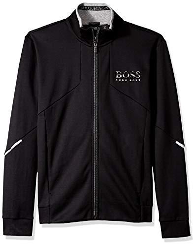 (BOSS Green Men's Skaz Jacket, Black, L)