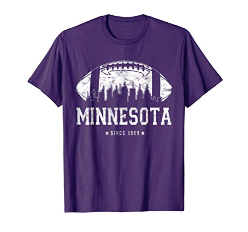 - Vintage MINNESOTA FOOTBALL Shirt Fan Gift Idea Viking