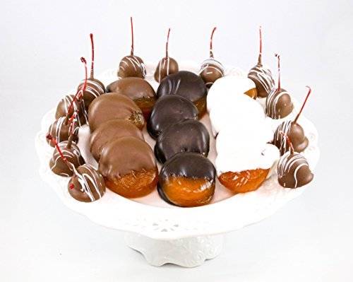 Apricot Chocolate Candy (Chocolate Dipped Glazed Australian Apricots & Chocolate Covered Cherries)