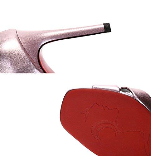 Stilettos Leather Sandals Sexy Kala Open Shoes toed Gllx Nahka Hollow Korkokengät Kengät Naisten Sandaalit Auki Suussa Seksikäs Fashion Ontto Women's Summer Pohjantikka Kesän Mouth Fish Hjhy Muoti 5Pfwxqtx8n