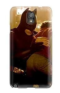 5156219K43694312 Perfect Tpu Case For Galaxy Note 3/ Anti-scratch Protector Case (batman Begins)