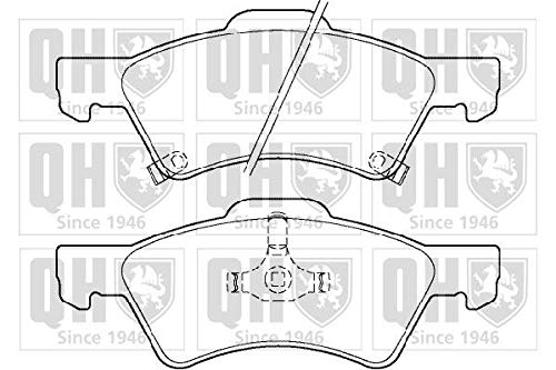 Quinton Hazell BP1345 Brake Pad Set