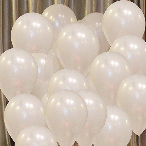 LONHEO White Latex Balloons 100pcs/lot 10 inch 1.8g Thick balloon Wedding Party Birthday Balls Classic toys christmas gift