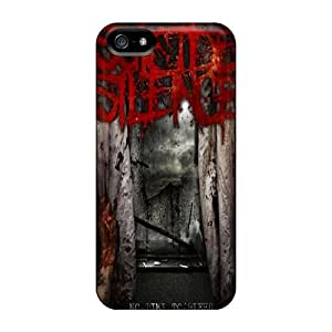 Iphone 5/5s XYN13306eaWH Custom Beautiful Suicide Silence Skin Protective Hard Phone Cover -MansourMurray