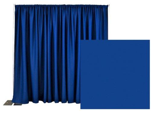 Break Apart Pipe and Drape Premier Backdrop Kit 8 ft. x 10 ft. - Royal Blue by P.D.O.