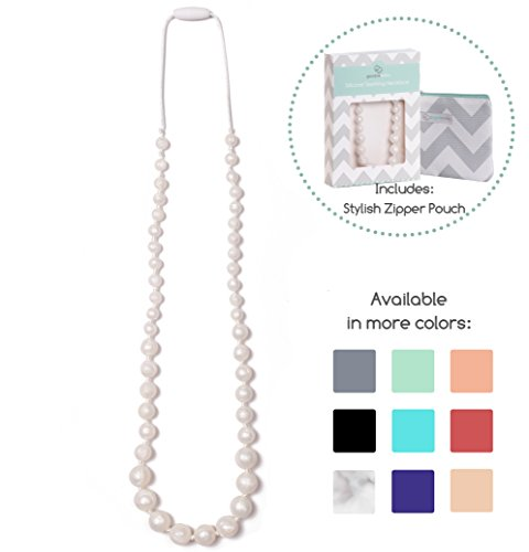 Goobie Baby Audrey Silicone Teething Necklace